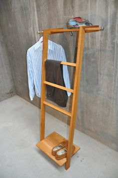 TB.4 Modern day Valet Stand/ Clothes Organiser by TidyboyBerlin