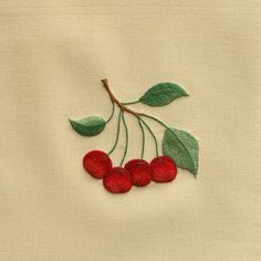 Cherries<br>Hand Towel