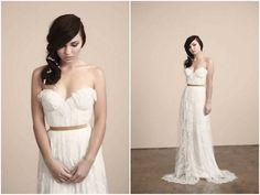 Trendy Wedding Dresses  :    romantic Sarah Seven wedding dress | Nikole Ramsay Photography