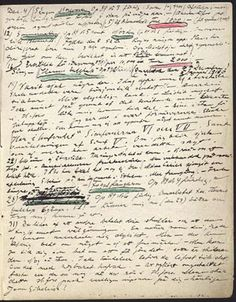 Sibelius was suffering from winter depression and often opened his heart to his diaries during his darkest moments.