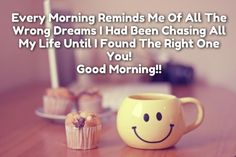 I HOPE YOUR MORNING IS AS BRIGHT AS YOR SMILE..!