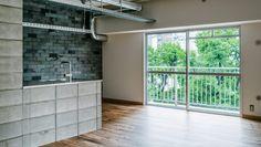 × toolbox コラボレーション企画   WORKS   大阪・神戸・沖縄でリノベーションならアートアンドクラフトへ! Alcove, Divider, Room, Furniture, Kitchen, Home Decor, Bedroom, Cuisine, Kitchens