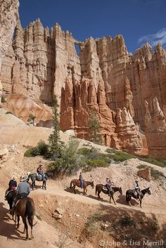 Bryce Canyon National Park horse back riding trails!
