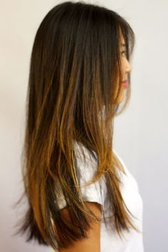 balayage for asian hair - Google Search