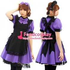Fond Cosplay Sissy maid lockable dress Uniform cosplay costume Tailor-made - Maid Uniform, Sissy Maid, Maid Dress, Pink Satin, Cosplay Costumes, Erotic, Short Dresses, Rompers, Fashion Outfits
