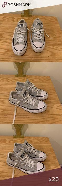 Grey converse Barely worn Converse Shoes Sneakers Grey Converse, Converse Shoes, Shoes Sneakers, Fashion Tips, Fashion Design, Fashion Trends, Shop My, Best Deals, Closet