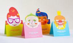 Cartões de visitas criativos para cabeleireiras (os) - Assuntos Criativos