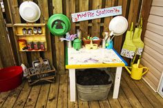 Our Play Space: MudPie Station | Early Years Ed...