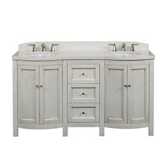 Shop allen + roth  Moravia Antique White Undermount Bathroom Vanity with Engineered Stone Top 60-in x 20-in at Lowe's Canada. Find our selection of bathroom vanities at the lowest price guaranteed with price match + 10% off.