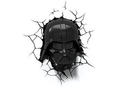 3D Light FX 50026 Star Wars Darth Vader 3D Deco Light, Plastic/LED, Black/Red: Amazon.co.uk: Kitchen & Home