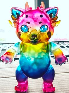 Randalulu Red Panda Kaiju By Candie Bolton x Piece of Art Toys | The Toy Chronicle
