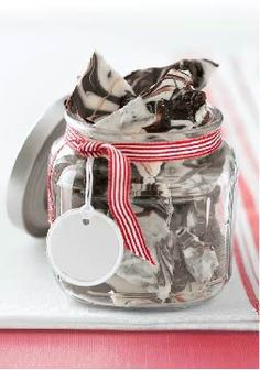Chocolate Cookie Bark – With Oreo Cookies in the mix, how can you go wrong? Wrap up these treats with the elegant (and totally achievable) chocolate swirl for any gift-giving occasion.