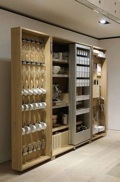 Mobile Kitchens - Bulthaup has created the b2, an open and mobile kitchen that can reflects the systematic observation of lifestyle and food in the world. According ...
