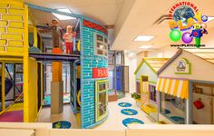 A new install we just did for a children's entertainment center. www.iplayco.com…