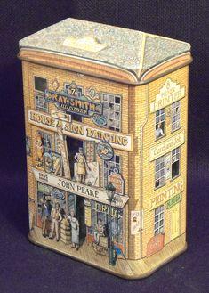 Dose Keksdose Art Cafe Bäckerei Blechdose Nostalgie Shabby Retro Vintage