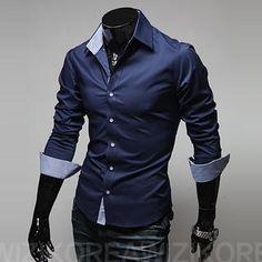 Slim-Fit Dress Shirt from #YesStyle <3 WIZIKOREA YesStyle.com