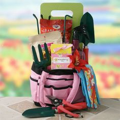 April Showers Gardening Gift Basket
