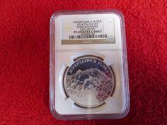 2014 Palau Colorized Silver $5 Mountains Flora:Shishapangma NGC PCGS PF69   | eBay
