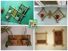 Fika a Dika - Por um Mundo Melhor: Painéis de Bambu para Plantas
