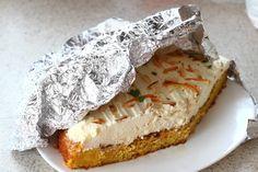 Prajitura fara faina cu portocale si crema philadelphia | Rețete - Laura Laurențiu Camembert Cheese, Philadelphia, Gluten, Food, Eten, Meals, Philadelphia Flyers, Diet