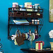 craft storage shelf