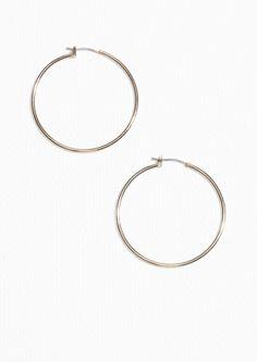 & Other Stories | Delicate Hoop Earrings