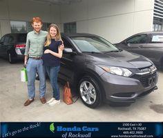 https://flic.kr/p/GAANUS | Congratulations Rebecca on your #Honda #HR-V from Jim Rutelonis at Honda Cars of Rockwall! | deliverymaxx.com/DealerReviews.aspx?DealerCode=VSDF