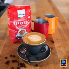 Kövess minket az Instagramon is. @aldi.magyarorszag Espresso, Tableware, Espresso Coffee, Dinnerware, Tablewares, Dishes, Place Settings, Espresso Drinks