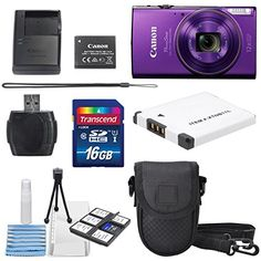 Canon PowerShot ELPH 360 HS (Purple) with 12x Optical Zoom and Built-In Wi-Fi with Deluxe Starter Kit Including 16 GB SDHC Class10 + Extra battery + Protective Camera Case http://cameras.henryhstevens.com/shop/canon-powershot-elph-360-hs-with-12x-optical-zoom-and-built-in-wi-fi-with-deluxe-accessory-bundle-and-cleaning-tools/?attribute_pa_size=16gb&attribute_pa_color=purple&attribute_pa_customerpackagetype=original https://images-na.ssl-images-amazon.com/images/I/51Hos0co1ZL