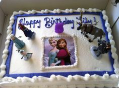 Safeway Cake Decorator Job Description : Disney, Disney cakes and Frozen on Pinterest