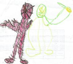 Homem aranha e escorpion