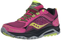 Yilaiyiqu_1 Popular Womens Grid Excursion TR9 Women's Trail Running Shoes Shoe PinkGreyCitron65 BM US New Style ** Learn more by visiting the image link.
