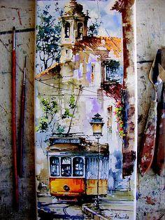 Lisbon, by Almeida Coval