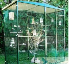 jaulas de madera grande para pajaros - Buscar con Google