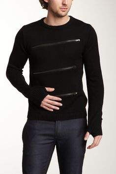 Young Machines Zip It Sweater on HauteLook