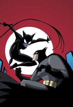 Batman Vs Catwoman - Cover by Luciano Vecchio