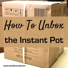 Overwhelmed on how to unbox your Instant Pot? Not sure how to set up your new appliance? Check out these 10 easy steps to get you cooking in no time.