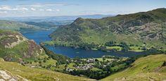 Lake District National Park in Keswick, Cumbria