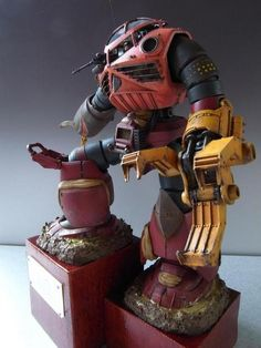 1/35シャア?ズゴック「 don't know what it is , but I LIKE it!! What a bad *ss blood angel THIS would make!!!