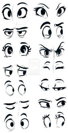 wie zu zeichnen – Auge – vol 2049 | Bilder für das Handy kostenlos