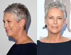 Super Short Grey Pixie                                                       …