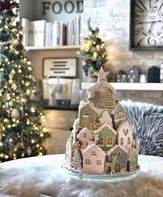"Story Of My Home on Instagram: ""Evening everyone. It's Maz here with my favourite of the day. How stunning is @life_at_no.77's photo? A gingerbread advent calendar...…"" Holiday Crafts, Holiday Decor, No Bake Cookies, Tiered Cakes, Advent Calendar, Gingerbread, Baking, My Favorite Things, Christmas"