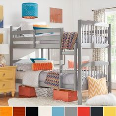 Shop for IQ KIDS Simone Twin and Twin Bunk Beds. Get free delivery at Overstock.com - Your Online Furniture Outlet Store! Get 5% in rewards with Club O!