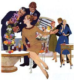 The Sociables art by Lynn Buckham