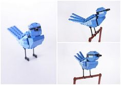 Lego birds of Oceania: Shane the Splendid Fairy Wren