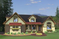 Houseplans.com Plan #51-511 Front Elevation