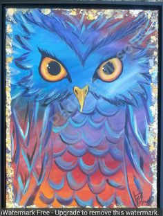 Check out this item in my Etsy shop https://www.etsy.com/listing/451833950/original-acrylic-owl-painting-by-padgett