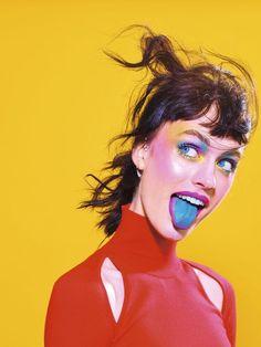 Maurizio Cattelan etPierpaolo Ferrari/ToiletPaper   Stylisme Mode Francesca Cefis Réalisation Lili Barbery-Coulon make up Violette