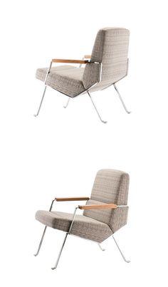 Karl Schwanzer Kollektion.58 Armchair Sofa Chair, Swivel Chair, Chair Design, Furniture Design, Mid-century Modern, Modern Design, Composite Material, Single Chair, Armchairs