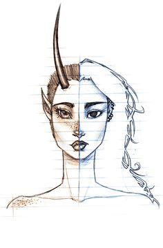 Same Soul, Different Faces by TroubleTrain on DeviantArt